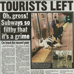 The New York Post put the story on Page 4 of Tuesday's Paper