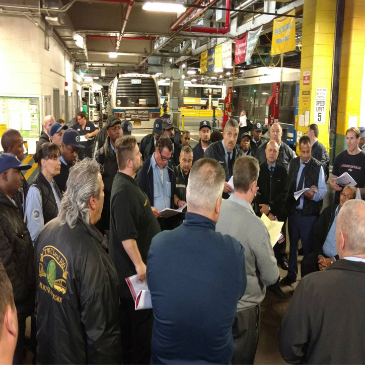 Mta Bus Members Ratify New Contract Twu Local 100